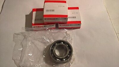 3 x Genuine Yamaha Gearbox Transmission Bearing 93306-20508 XP500 XP530 TMAX
