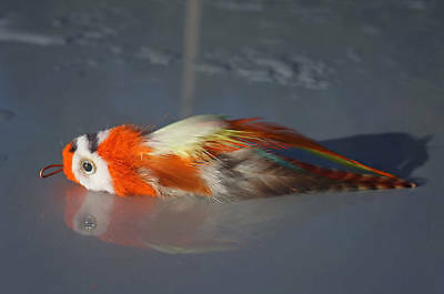 Percy Parrot realistic bird cat toy teaser by Tiga Toys feather,handmade,chase