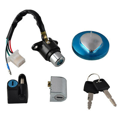 Motorcycle Ignition Switch Lock Kit Fuel Gas Tank Cap Include Key For Honda Cb250f Vtr250 Hornet250 1998-2001 Automobiles & Motorcycles Frames & Fittings