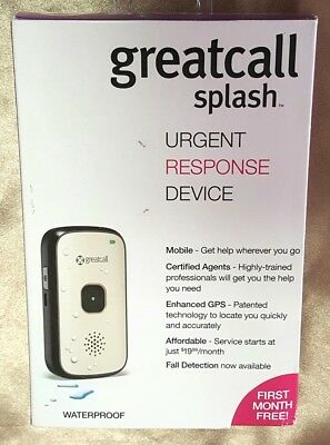 Medical Alert System Emergency greatcall splash URGENT RESPONSE DEVICE 5 Star