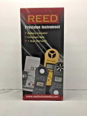 REED Instruments LM-81LX Compact Light Meter, 20,000 Lux / 2,000 Foot Candles