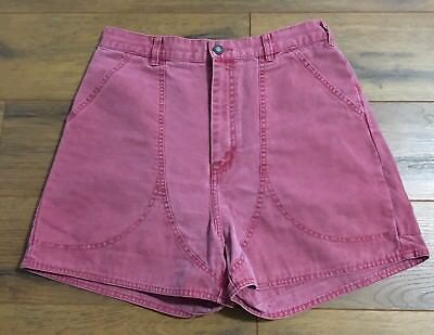 Women's PATAGONIA STAND UP SHORTS Vintage Hiking Camping Tag Size 14 30x3.5 VGUC