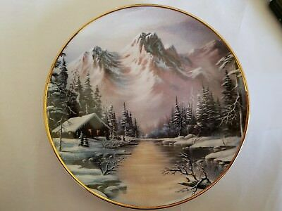 Peaceful Solitude Franklin Mint Decorator Collector Plate Ron Huff  1992