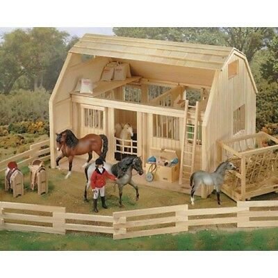 Breyer Wood Corral Fence, #7500, Total Of 11 Sections