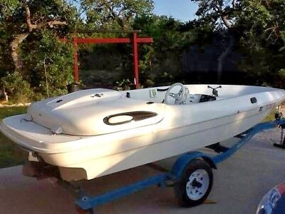 1995 BAYLINER JAZZ Jet Boat 14 Foot With 120 hp Two-stroke Engine