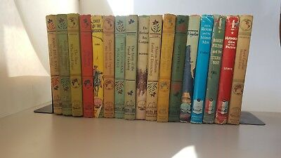 Vintage Lot of 17 Landmark Books 1955-1959 Some DJ Instant Collection Homeschool