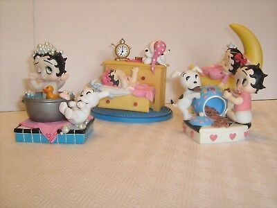 Baby Betty Boop Figurines from Danbury Mint