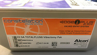 Alcon Ref: 8065751614  23 GA TotalPlus Vitrectomy Pak (2019/03)