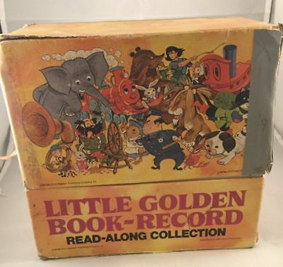 Vintage Little Golden Book- Record Read Along Collection 45s