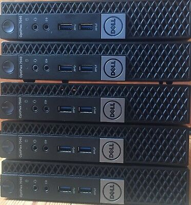 Dell Optiplex 7040 Micro Desktop PC i5-6600T@2.7GH DDR4 8GB 500GB HDD