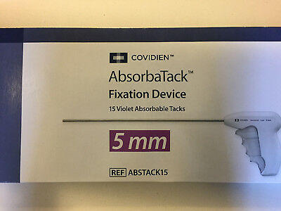 Covidien Ref: ABSTACK15 AbsorbaTack Fixation Device 15 Violet (in-date 2018/06)