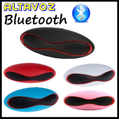Altavoz Bluetooth Portatil Inalambrico ranura Micro SD, MP3, Altavoces, Mini