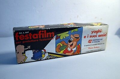 Very RARE Vintage HANNA BARBERA - YOGUI BEAR - SLIDESHOW PROJECTOR REELS 1968