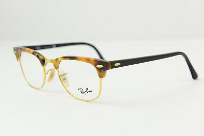 37d164615b ... red optical dc12f dfc9c usa ray ban clubmaster eyeglasses frame rb5154  5494 49 21 140 gold havana brown c2831 09453 ...