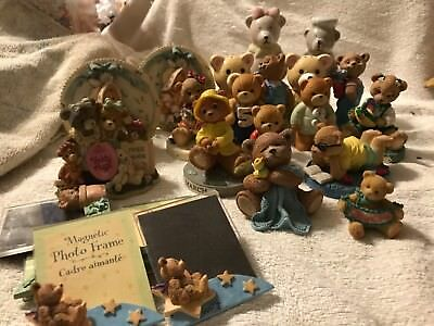 Theadorables, Teddy Bear Tales, Cherished Teddies mixed lot of 23 figurines!