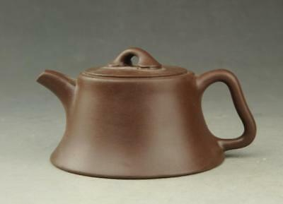 Chinese antique old Yixing purple sands hand-made teapot