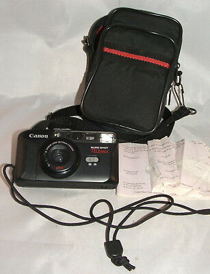Canon Sure Shot Telemax with Carrying Case, Clean Estate