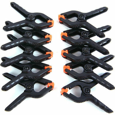 10× 2 inch Photo Studio Clamps Backdrop  Photography Background Clips Peg Light