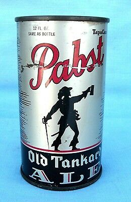 Pabst Old Tankard Ale Beer Type IRTP O//I Flat Top New York City Can