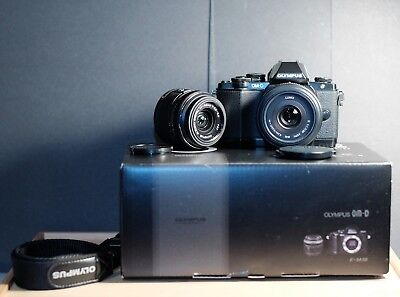 Olympus OM-D E-M10 mk1 with 20mm f/1.7 & 14-42mm Complete Kit with Box