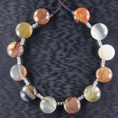 """Mexican Agate 7"""" Inch Bead Set ZZ015087"""