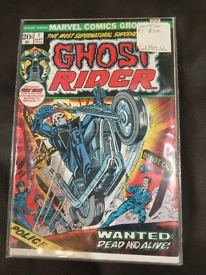 Ghost Rider #1 (Sep 1973, Marvel) Immaculate