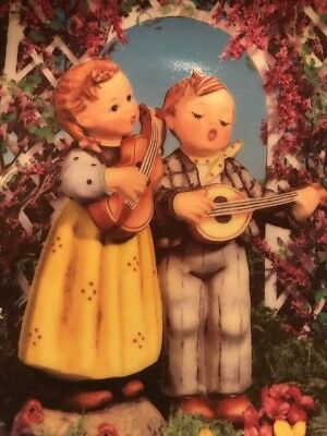"MI Hummel ""Little Musicians"" The Danbury Mint Plate Little Companions"