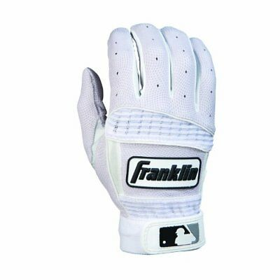 Franklin Sports Neo Classic Series Batting Gloves Pearl/White X-Large