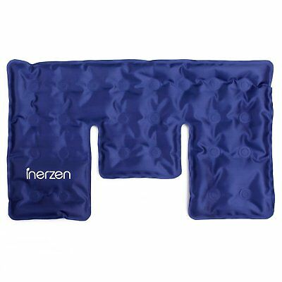 Inerzen Neck & Shoulder Hot & Cold Gel Pad Therapy Wrap for Pain & Stress Relief