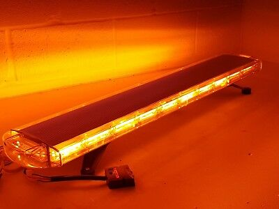 "led recovery lightbar 12v amber  light beacon 1200mm 47"" brand new UK SELLER"