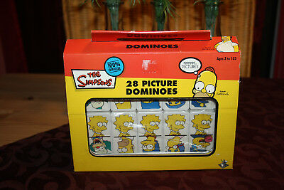 The Simpsons 28 pictures Domino mit Lunchbox