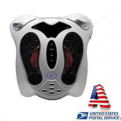 USA Circulation Blood Booster Device Pain Relieve Machine Relax Foot Massager