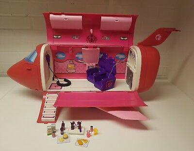 ad6266629bb BARBIE VACATION JET Plane Glamour Pink Fashion Doll Air Plane Play Set Girl  Gift - £11.80