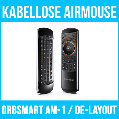 Orbsmart AM-1 Lite kabellose Airmouse (2.4Ghz) / Airflymouse inkl. Gyro-Funktion