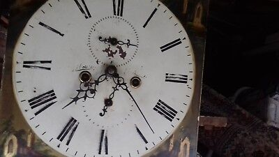 Grandfather/Longcase Clock Movement and Dial