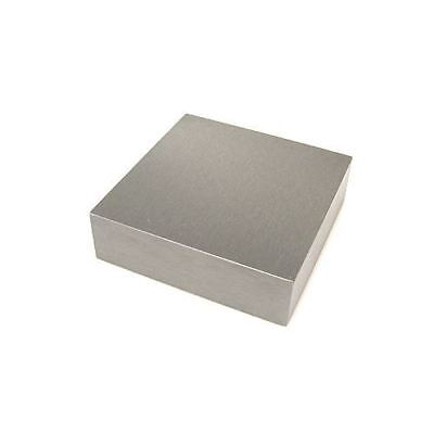 """Solid Steel Jewellers Bench Block 6.0"""" x 4.0"""" x 0.75"""" Dapping Doming Hammering"""