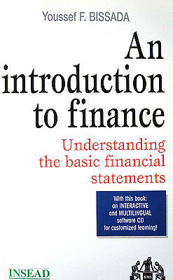 *TOP* Youssef F. BISSADA: An introduction to finance &CD for customized learning