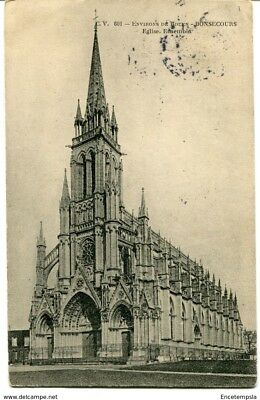 CPA -Carte postale-  France -Bonsecours - Eglise - 1907 (CP1084)