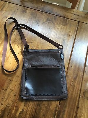 e66a065c43 womens handbags and purses Wilsons Leather Dark Brown Leather Cross Body Bag