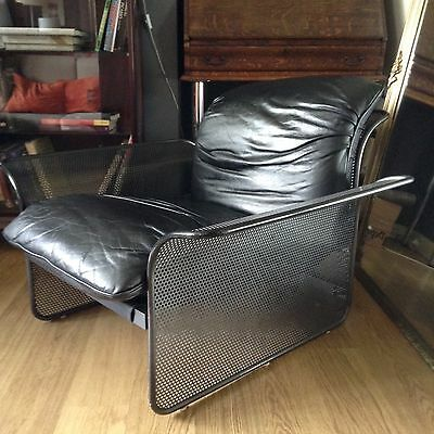 Astonishing Vintage Omk Rodney Kinsman Cassis Leather Chair 1970S Heals Andrewgaddart Wooden Chair Designs For Living Room Andrewgaddartcom