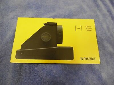 New The Impossible Project Impossible I-1 Instant Film Camera