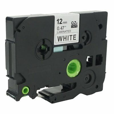 Black on White Label Tape TZ231 TZe231 12mm 8M Compatible Brother P-Touch 26.2ft