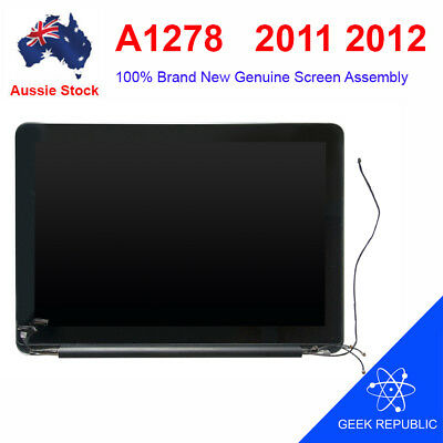 """NEW Genuine LCD Screen Display Assembly for MacBook Pro 13"""" A1278 2011 2012"""