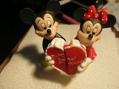 Lenox Mickey and Minnie salt and pepper....colored with love