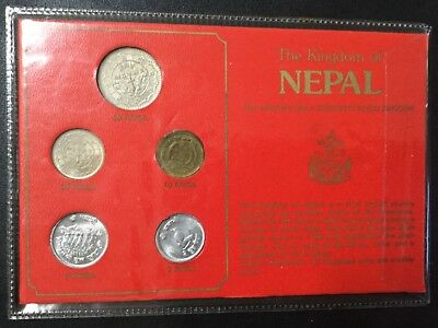 Nepal Uncirculated Coins Set !
