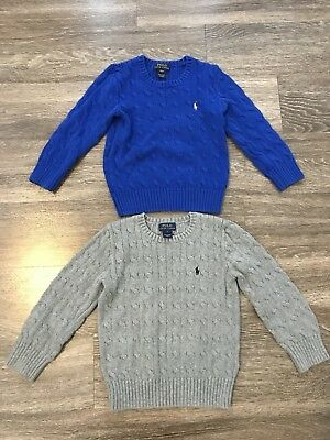 Polo by Ralph Lauren Boys Blue Sweater (Size 4/4T)