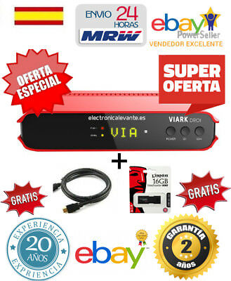 Decodificador Viark Droi  Original + Regalo  Hdmi  4K + Usb 16Gb  Mrw 24H