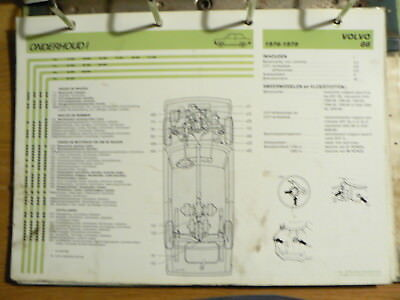 Volvo 66 1976-1979 Info Technical Information Car Auto  Oly139