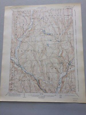 USGS Antique Topographic Map, GREENE, NY, 1902, Ed. of 1904, Reprint 1942