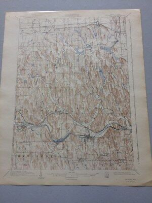 USGS Antique Topographic Map, PALMYRA, NY, 1898-99, Ed. of 1902, Reprint 1942